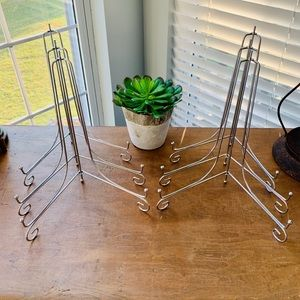 Set of 6 Silver Easels
